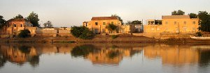 Podor in Senegal