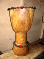 djembe stringing