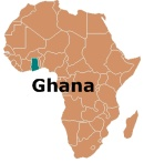 Africa Map Ghana