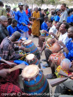Ewe Drumming
