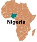 Africa Map Nigeria