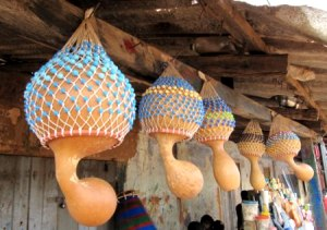 Axatse Gourd Rattles - African Rattles Of The Ewe People