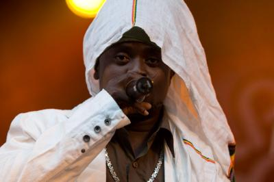 Prophet perfoming at Oland Roots festival in Sweden