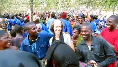 At an Ewe funeral in Atsiekpui, Ghana