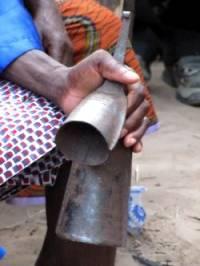 Gankogui African bell